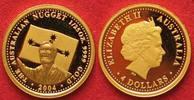 2004 Australien 1/25 oz Gold AUSTRALIEN 4 Dollars 2004 AUSTRALIAN NUGG... 89,99 EUR  zzgl. 4,50 EUR Versand