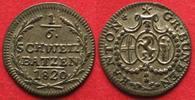 1820 Schweiz - Graubünden Swiss GRAUBUNDEN Canton 1/6 Batzen 1820 bill... 139,99 EUR  +  6,50 EUR shipping
