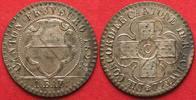 1827 Schweiz - Freiburg FREIBURG / FRIBOURG Kanton 1 Batzen 1827 Billo... 149,99 EUR