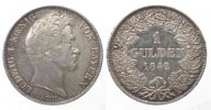 Bayern  1842 ss-vz BAYERN 1 Gulden 1842 LUDWIG I. Silber ERHALTUNG! # 77562 46,99 EUR zzgl. 4,00 EUR Versand