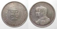 Portugal  PORTUGAL 1000 Reis 1898 Discovery of India CARLOS I silver XF! # 77751