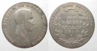 Preussen  PREUSSEN Taler 1814 A FRIEDRICH WILHELM III. Silber # 77752