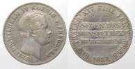 Preussen  Germany PRUSSIA Mining Thaler 1844 A FRIEDRICH WILHELM IV silver VF # 77754