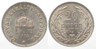 Ungarn  UNGARN 20 Filler 1914 Nickel SELTENES JAHR! ERHALTUNG!!! # 77790