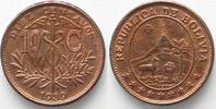 1939 Bolivien BOLIVIEN 10 Centavos 1939 - PROBE - Zinn verkupfert RRR!... 349,99 EUR  zzgl. 6,50 EUR Versand