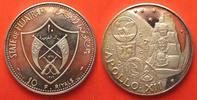 1970 Fudschairah FUJAIRAH 10 Riyals 1970 APOLLO XII MOON silver Proof ... 189,99 EUR  +  6,50 EUR shipping