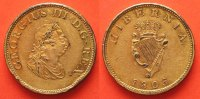 Irland  1805 PP IRELAND Halfpenny 1805 GEORGE III gilt copper Proof RRR!... 199,99 EUR