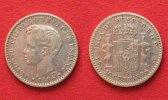 1896 Puerto Rico PUERTO RICO 10 Centavos 1896 ALFONSO XIII silver VF #... 174,99 EUR  +  6,50 EUR shipping