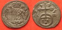 1745 Brandenburg-Bayreuth BRANDENBURG-BAYREUTH Pfennig 1745 FRIEDRICH ... 22,99 EUR  zzgl. 4,50 EUR Versand