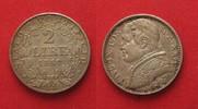 1869 Vatikan STATO PONTIFICIO 2 Lire 1869 PIO IX An.XXIV argento SPL/S... 64,99 EUR