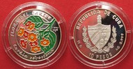 1997 Kuba KUBA 10 Pesos 1997 CORDIA SEBESTENA FLORA DER KARIBIK Silber... 24,99 EUR17,49 EUR