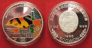 1996 Nordkorea NORTH KOREA 500 Won 1996 Lown loach FISHES silver 1 oz ... 74,99 EUR  +  5,00 EUR shipping