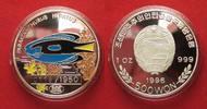 1996 Nordkorea NORDKOREA 500 Won 1996 Doktorfisch ZIERFISCHE Silber 1 ... 74,99 EUR  zzgl. 4,50 EUR Versand