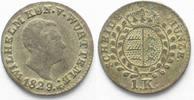 1829 Württemberg WÜRTTEMBERG 1 Kreuzer 1829 WILHELM I. Silber SELTEN! ... 22,99 EUR  zzgl. 4,50 EUR Versand