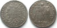 1798-1799 Frankreich FRANCE 5 Francs AN 7(1798-99) K BORDEAUX silver a... 449,99 EUR  +  6,50 EUR shipping