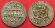1757 Preussen PREUSSEN 1/24 Taler 1757 F Magdeburg FRIEDRICH II. Silbe... 24,99 EUR  zzgl. Versand