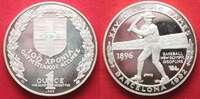 1992 Griechenland GREECE 1 Ounce silver 1992 Olympics Centennial BARCE... 49,99 EUR39,99 EUR  +  5,00 EUR shipping
