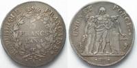 1795-1796 Frankreich FRANCE 5 Francs AN 4 (1795-96) A - PARIS silver V... 159,99 EUR  +  6,50 EUR shipping