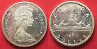 1965 Kanada KANADA 1 Dollar 1965 Kanu ELIZABETH II. Silber PROOF RAR! ... 129,99 EUR  zzgl. 6,50 EUR Versand