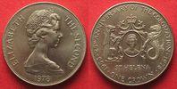 1978 St. Helena ST. HELENA Crown 1978 25th ANN. OF CORONATION Cu-Ni UN... 9,99 EUR  plus 5,00 EUR verzending