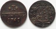 1765 Sachsen SACHSEN 1 Pfennig 1765 C FRIEDRICH AUGUST III. Billon # 9... 8,99 EUR  zzgl. 4,50 EUR Versand