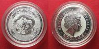 2000 Australien 2 oz pure silver YEAR OF THE DRAGON 2 Dollars 2000 BU ... 144,99 EUR134,99 EUR  +  6,50 EUR shipping