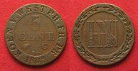 1809 Westphalen, Königreich WESTFALEN 5 Centimes 1809 C HIERONYMUS NAP... 24,99 EUR  zzgl. 4,50 EUR Versand