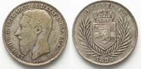 1896 Belgisch Kongo BELGIAN CONGO 50 Centimes 1896 LEOPOLD II silver V... 99,99 EUR  plus 6,50 EUR verzending