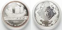 1985 Singapur SINGAPORE Ounce 1985 JUNK SHIP silver 1 oz Proof SCARCE!... 99,99 EUR  plus 6,50 EUR verzending