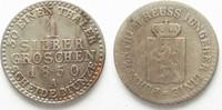 1850 Reuss-Schleiz REUSS JÜNGERER LINIE 1 Silbergroschen 1844 HEINRICH... 18,99 EUR  zzgl. 4,50 EUR Versand
