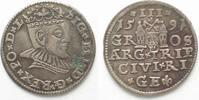 1591 Riga RIGA 3 Gröscher 1591 GE SIGISMUND III. v. POLEN Silber # 951... 36,99 EUR  zzgl. 4,50 EUR Versand