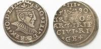 1590 Riga RIGA 3 Gröscher 1590 GE SIGISMUND III. v. POLEN Silber # 951... 36,99 EUR  zzgl. 4,50 EUR Versand