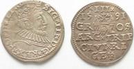1591 Riga RIGA 3 Gröscher 1591 GE SIGISMUND III. v. POLEN Silber ERHAL... 59,99 EUR  zzgl. 4,50 EUR Versand