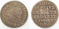 1592 Riga RIGA 3 Gröscher 1592 GE SIGISMUND III. v. POLEN Silber # 951... 36,99 EUR  zzgl. 4,50 EUR Versand