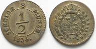 1834 Württemberg WÜRTTEMBERG 1/2 Kreuzer 1834 WILHELM I. Billon ERHALT... 29,99 EUR  zzgl. 4,50 EUR Versand