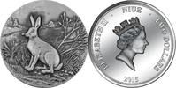 2015 Niue SWISS WILDLIFE - MOUNTAIN HARE 2 $ 2015 high relief silver 1... 99,99 EUR  +  6,50 EUR shipping