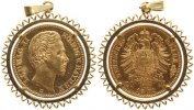 Bayern 20 Mark  Gold 1872 ...