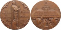 Personenmedaillen Bronzemedaille Bismarck, Otto von *1815, +1898.