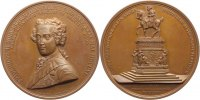 Brandenburg-Preuen Bronzemedaille Friedrich Wilhelm III. 1797-1840.
