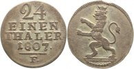 Hessen-Kassel 1/24 Taler Wilhelm I. 1803-1821.