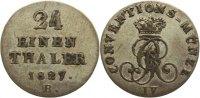 1/24 Taler 1827  B Braunschweig - Calenberg - Hannover Georg IV. 1820-1... 15,00 EUR