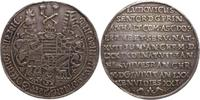 Sterbehalbtaler vom Talerstempel 1650 Anhalt-Köthen Ludwig der Ältere 1... 1150,00 EUR kostenloser Versand
