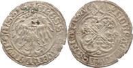 Groschen nach Meißner Art oJ (u um 1460 Quedlinburg-Abtei Hedwig von Sa... 225,00 EUR kostenloser Versand