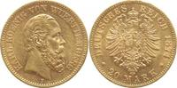 20 Mark Gold 1874  F Württemberg Karl 1864-1891. winz. Randfehler, fast... 425,00 EUR  +  5,00 EUR shipping