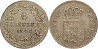 6 Kreuzer 1844 Bayern Ludwig I. 1825-1848. Sehr schön+  20,00 EUR kostenloser Versand