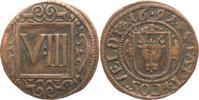 VIII Pfennig 1691 Coesfeld  Sehr schön  30,00 EUR kostenloser Versand