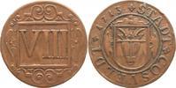 VIII Pfennig 1713 Coesfeld  Winz. Randfehler, gutes sehr schön  20,00 EUR kostenloser Versand