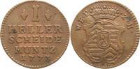 1 Heller 1773 Hanau-Münzenberg Wilhelm IX. von Hessen-Kassel 1760-1785-... 15,00 EUR kostenloser Versand