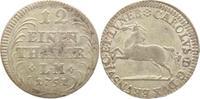1/12 Taler 1751 Braunschweig-Wolfenbüttel Karl I. 1735-1780. Prägeschwä... 25,00 EUR kostenloser Versand