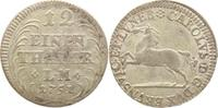 1/12 Taler 1751 Braunschweig-Wolfenbüttel Karl I. 1735-1780. Prägeschwä... 25,00 EUR  +  5,00 EUR shipping